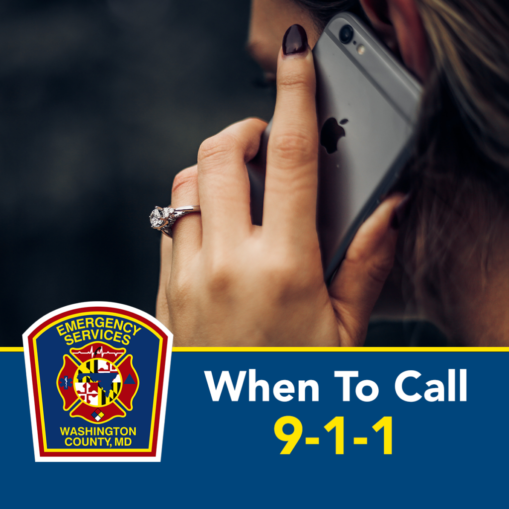 When to call 9-1-1