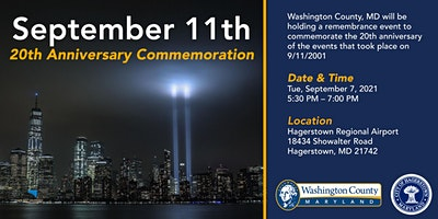September 11th 20th Anniversary Commemoration