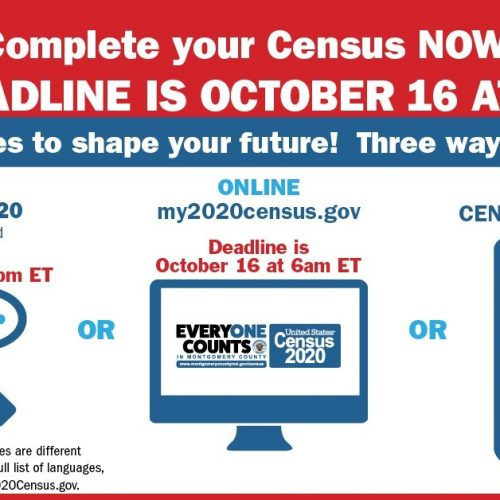 Final Day to Complete 2020 Census
