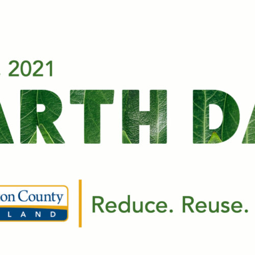 Reduce, Reuse, Recycle - Celebrate Earth Day!