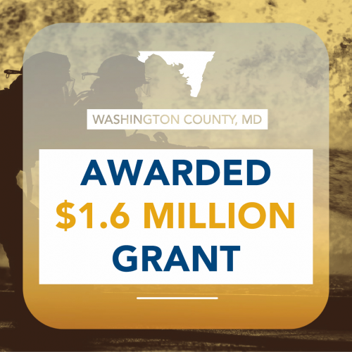 Washington County Awarded $1.6 Million Federal Grant to Fund Equipment for Firefighters