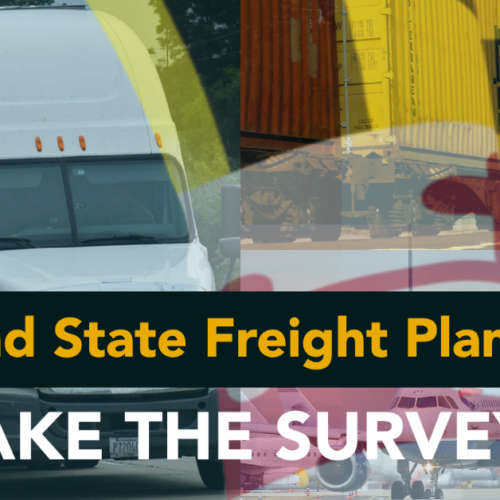 Your Input is Needed! Maryland State Freight Plan Survey