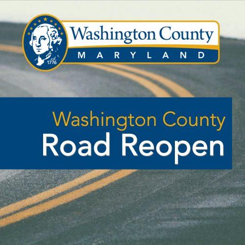 TRAFFIC ALERT: Roads Reopen in Washington County, MD