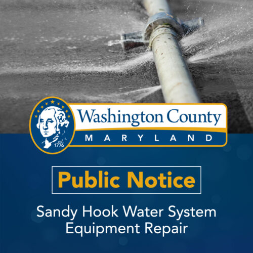 PUBLIC NOTICE: Sandy Hook Water System Experiencing Low Water Supply
