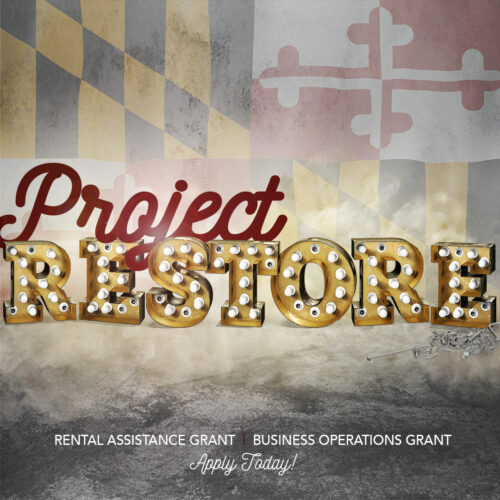 PROJECT RESTORE - Grant Application Opens Today at Noon