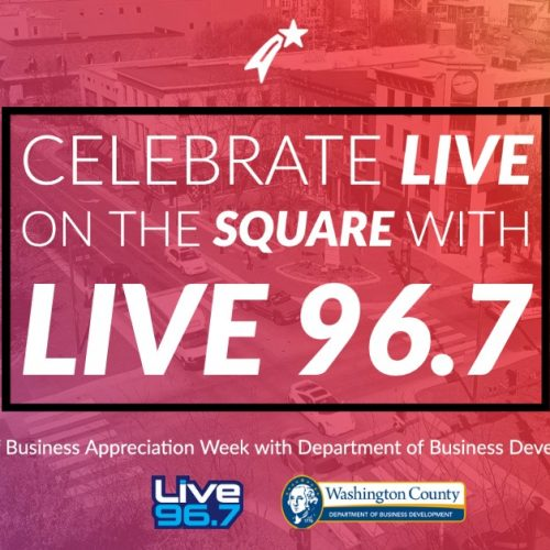 Live in the Square with Washington County Department of Business Development
