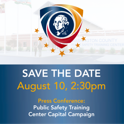 SAVE THE DATE! Washington County Public Safety Training Center Capital Campaign Kick-Off