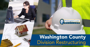 Washington County Division Restructuring