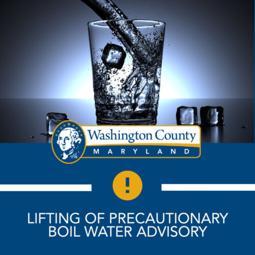 Lifting of Precautionary Boil Water Advisory for 21738-21835 Academy Terrace - Mt Aetna Water System